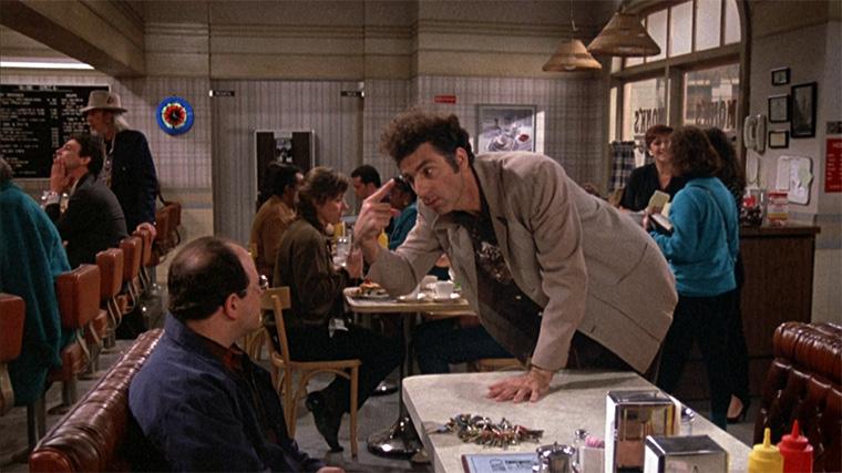 Seinfeld, The Keys, George, Kramer