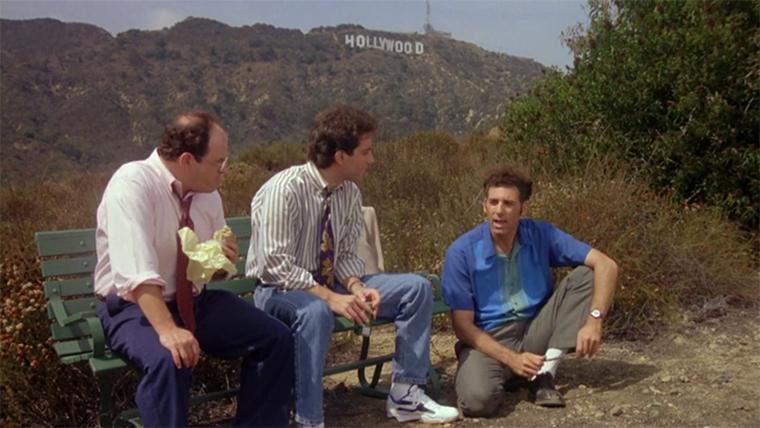 Seinfeld, The Trip, Jerry, Kramer, George